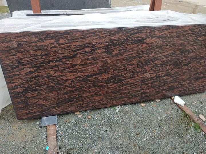 Brajil Brown Granite Polished Brown Granite for Countertops