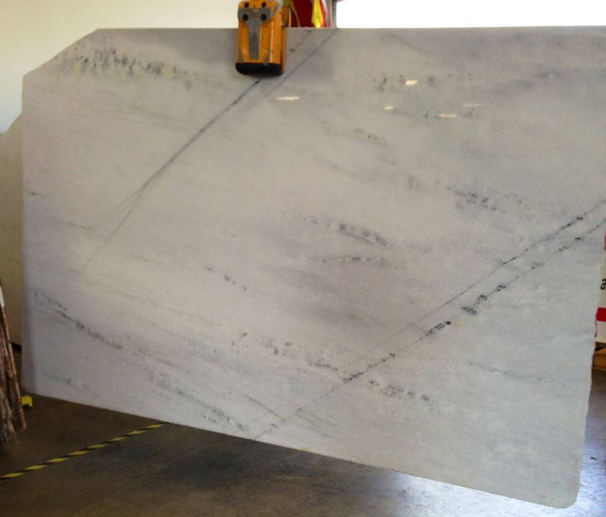 Branco Guimar White Polished Marble Slabs
