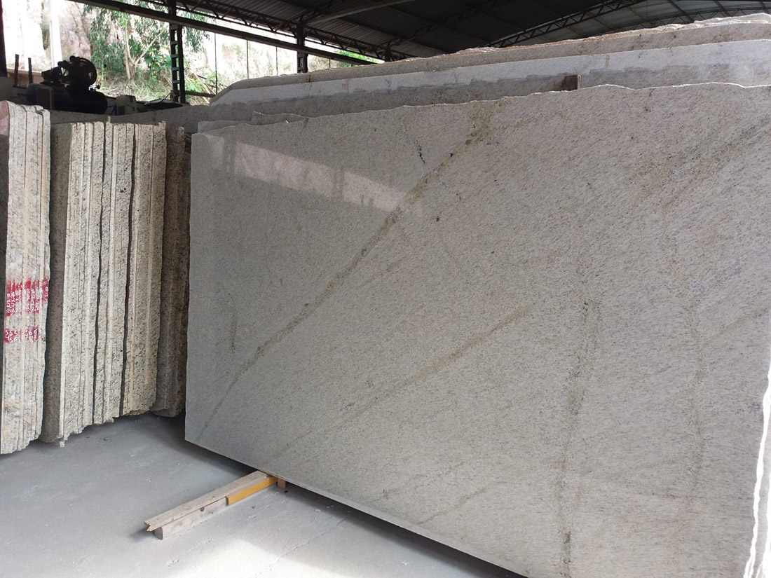 Branco Siena Granite Slabs Beige Brazilian Granite Slabs