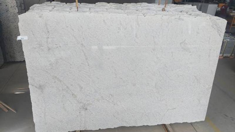 Branco Siena White Granite Slabs Polished Brazilian Granite Slabs