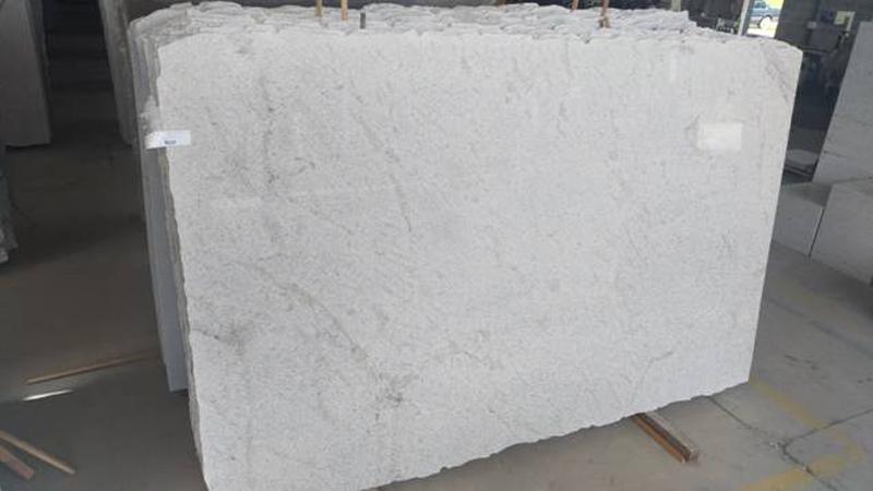 Branco Siena White Granite Slabs Polished Granite Slabs