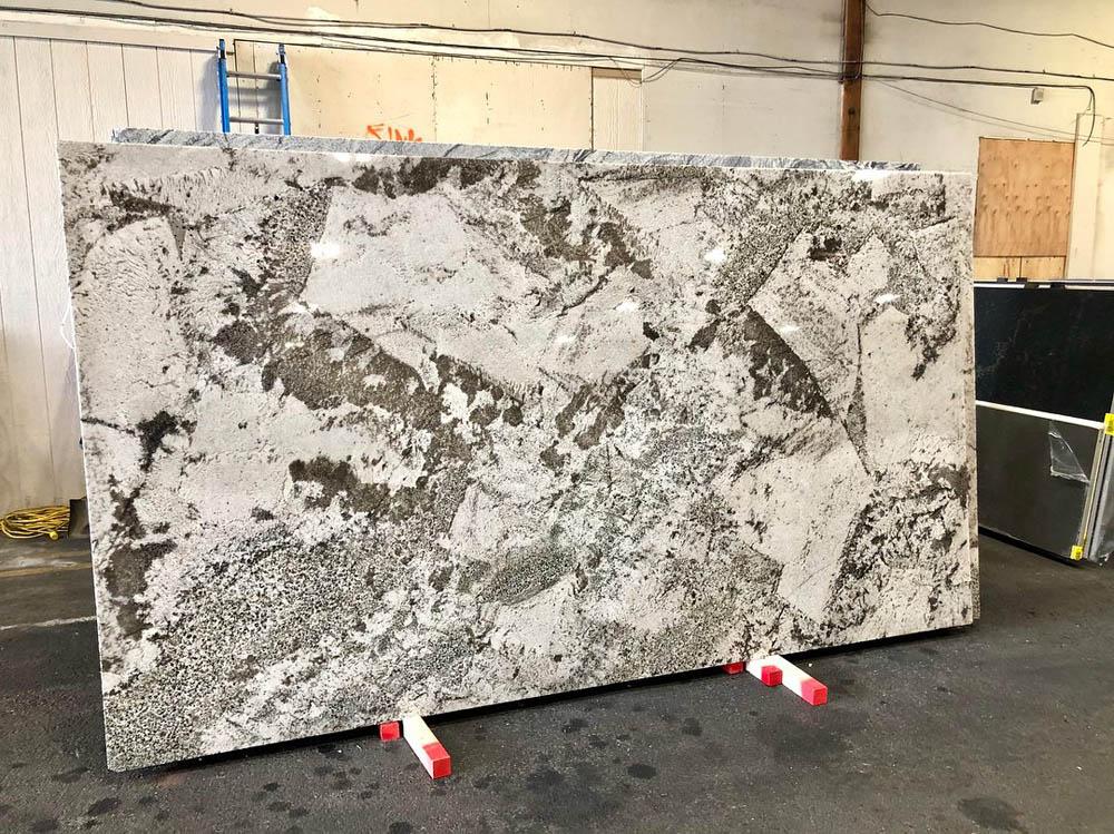 Brazil Alpine White Granite Slabs