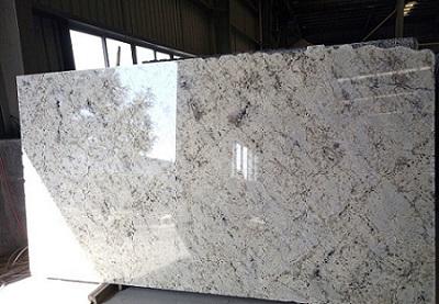 Brazil Aran White Galaxy White Granite Slabs