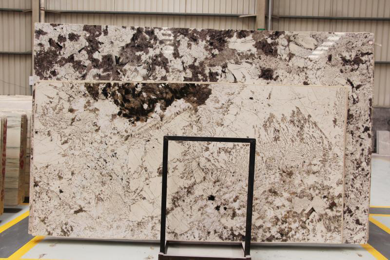 Brazil Bianco Alpinus White Granite Polished Slabs