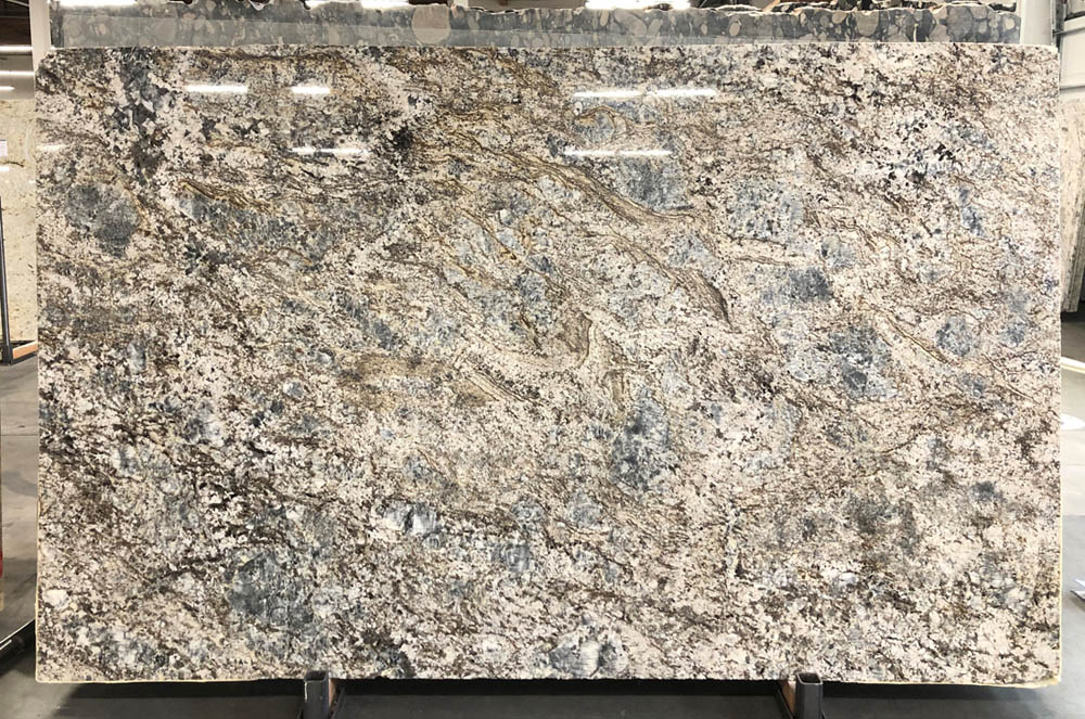 Brazil Blue Flower 3cm Granite Stone Slabs Polished Granite Slabs