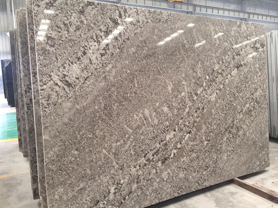 Brazil Branco Sandiago Granite Slabs