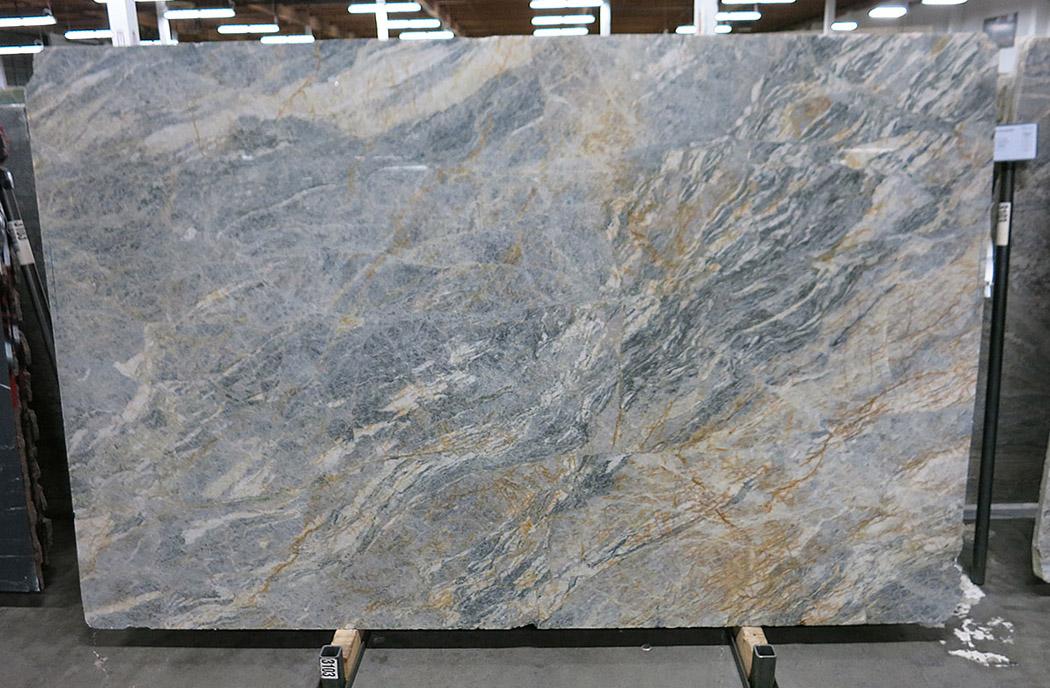 Brazil Cielo Blue Quartzite Stone Slabs Polished Quartzite Slabs