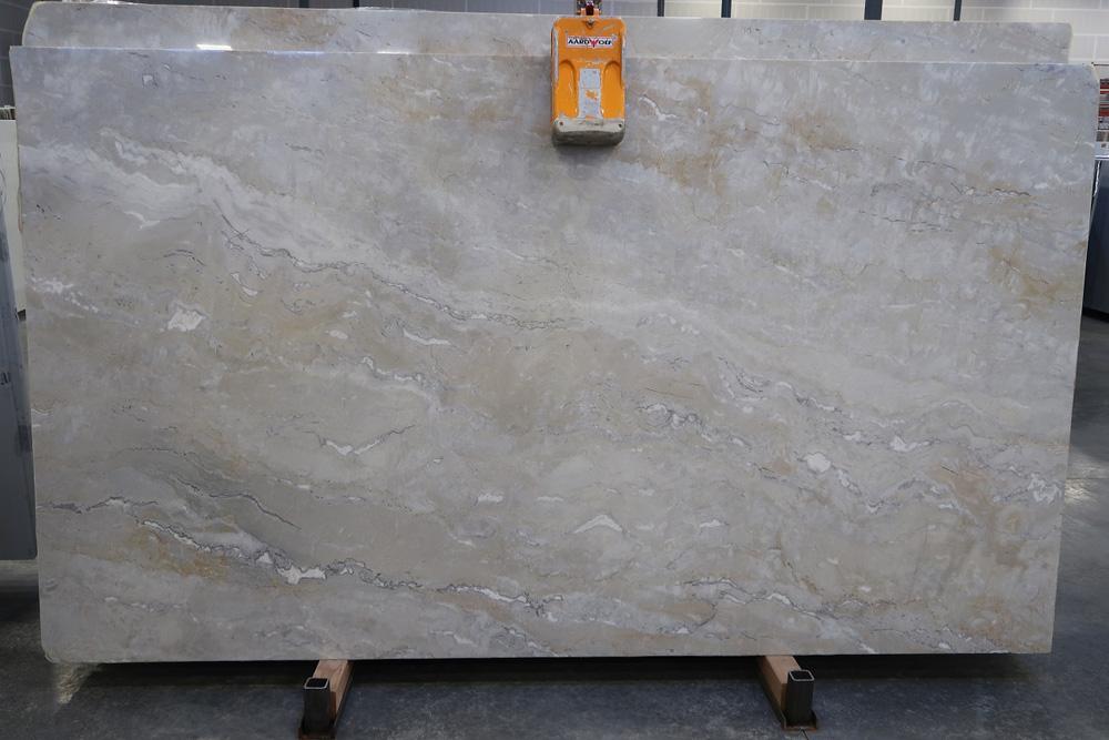 Brazil Dolce Vita Quartzite Stone Slabs Polished Beige Quartzite Slabs