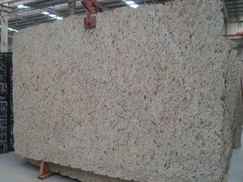 Brazil Giallo Ornamental Granite Polished Slabs