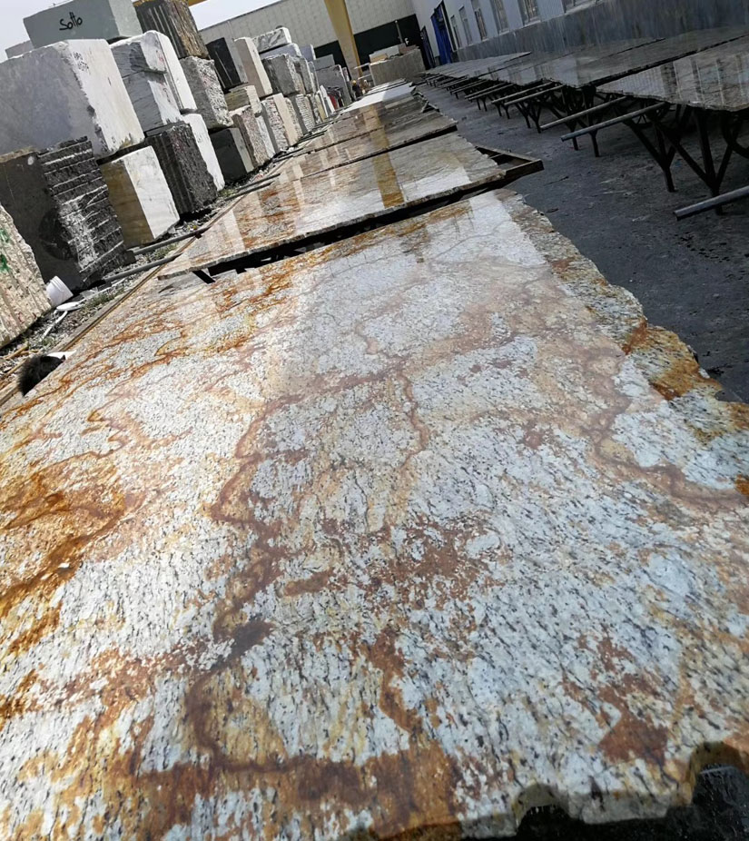 Brazil Gold Granite Slabs