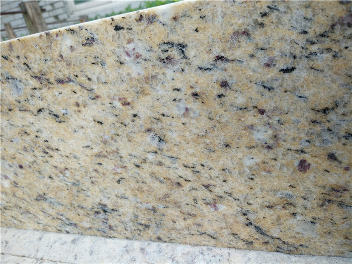 Brazil Golden Grain Granite Countertops for Kitchen
