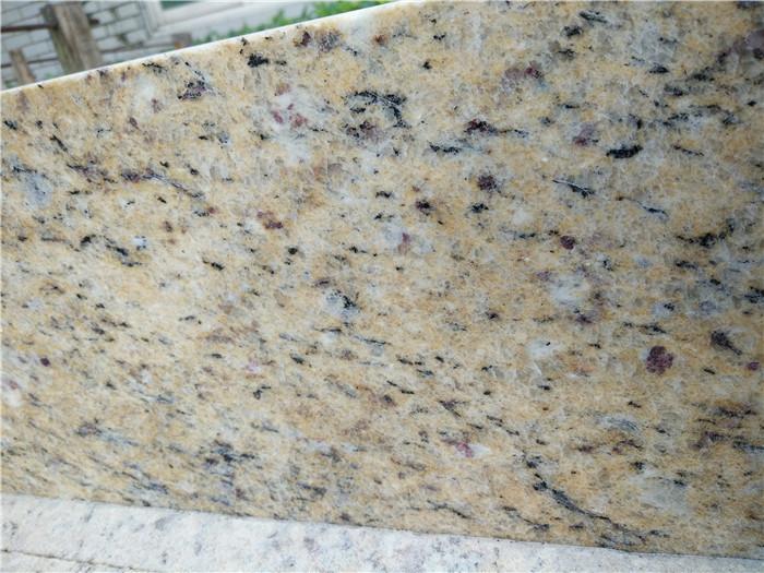 Brazil Golden Grain Granite Countertops For Kitchen