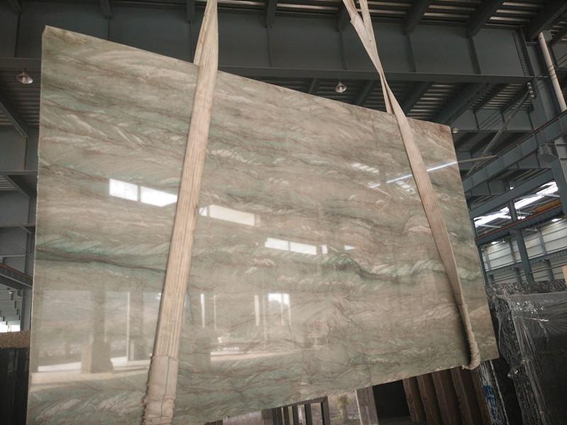 Brazil Green Polished Quartzite Slabs