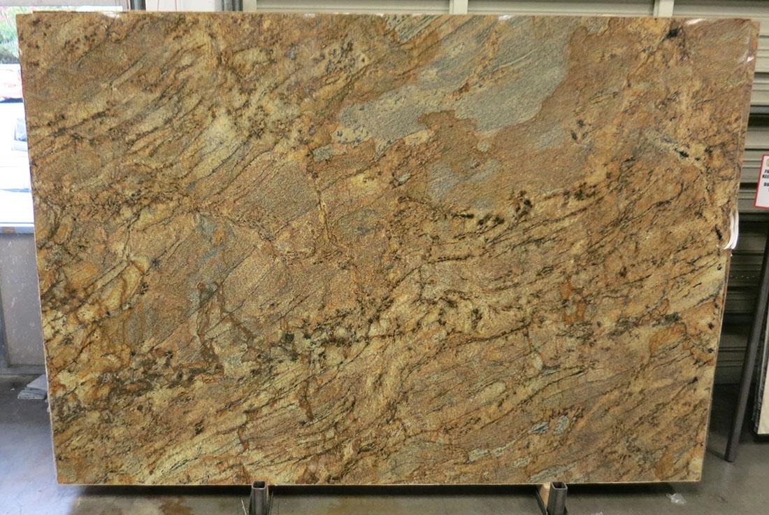 Brazil Lappidus Beige Granite Slabs Polished Granite Slabs for Countertops