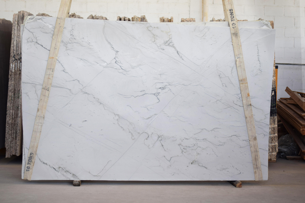 Brazil Mont Blanc White Quartzite Polished Slabs