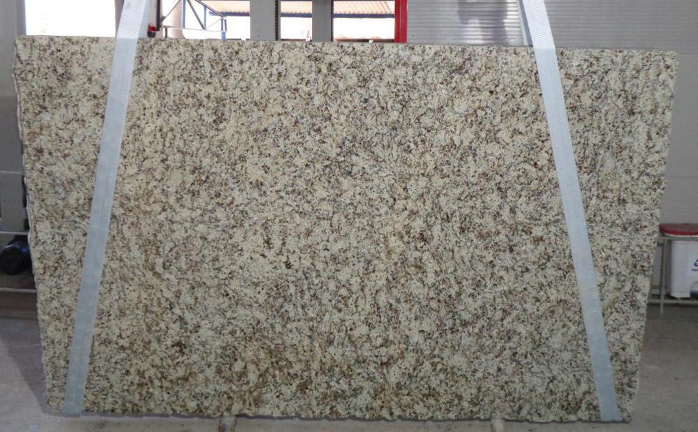 Brazil Napoli Granite Slabs Beige Granite Polished Stone Slabs