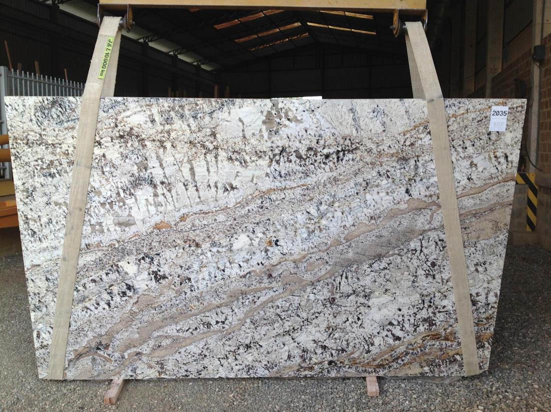 Brazil Persa White Granite Polished Slabs
