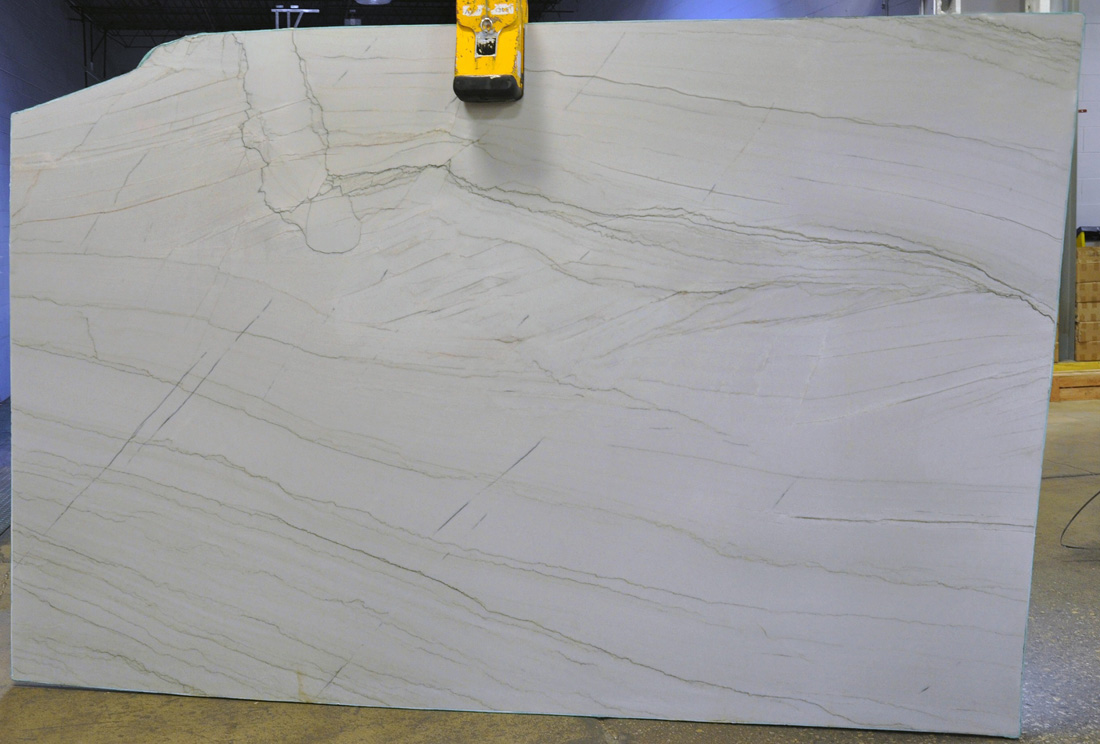 Brazil Santorini 3cm Polished White Quartzite Stone Slabs