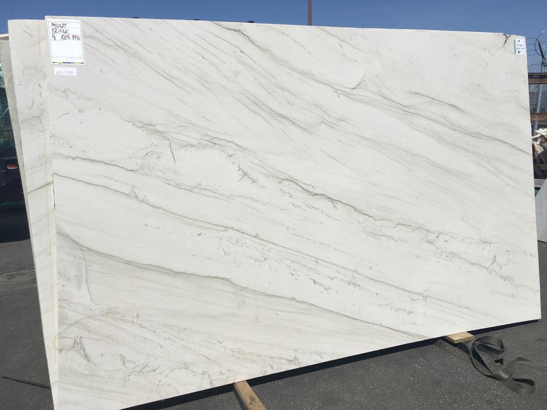 Brazil Stone Mont Blanc Polished Quartzite Slab