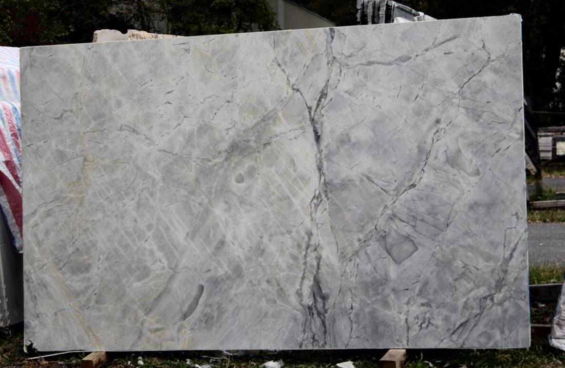 Brazil Super White Quartzite Slabs for Vanity Tops