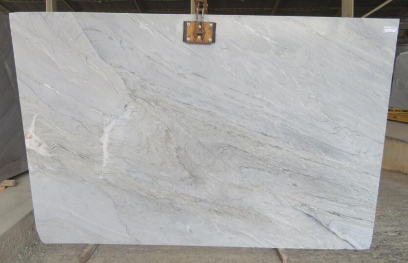Brazil Vega Quartzite Stone Slabs Polished White Quartzite Slabs