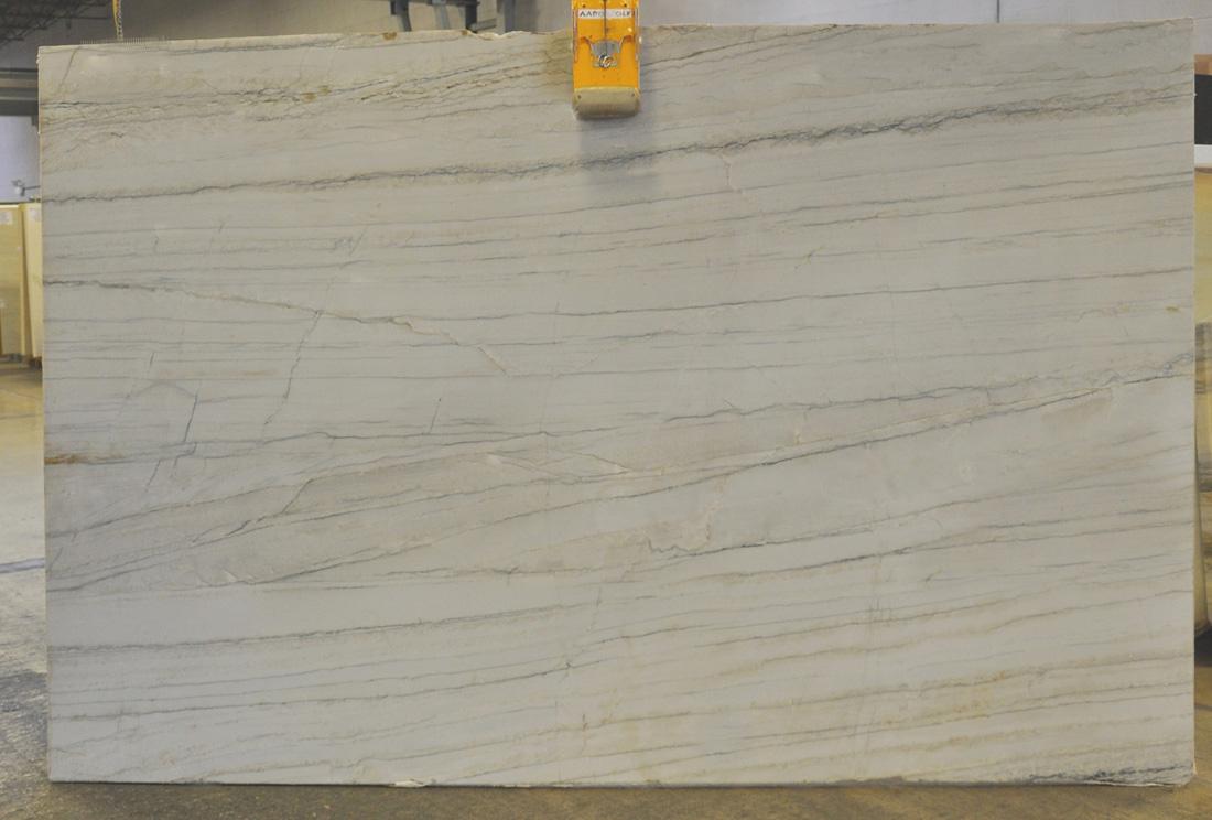 Brazil White Macauba Polished Quartzite Stone Slabs for Countertops