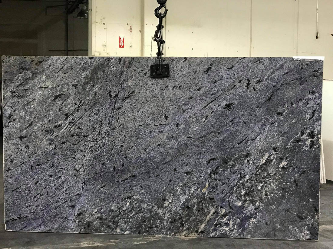 Brazilian Blue Bahia Granite Slabs