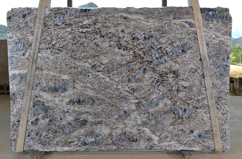 Brazilian Blue Flowers 3cm Slabs Premium Granite Stone Slabs