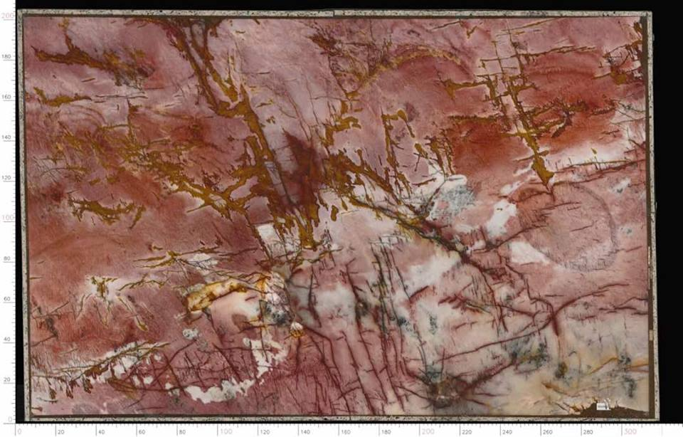 Brazilian Cosmopolitan Quartzite Slabs Red Quartzite Slabs