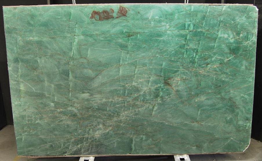 Brazilian Emerald Green Polished Quartzite Slabs