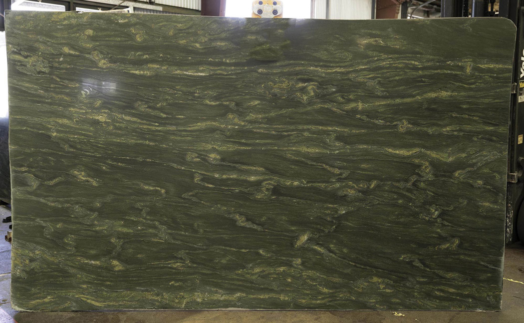 Brazilian Green Granite Slabs Fusion Granite Polished Slabs