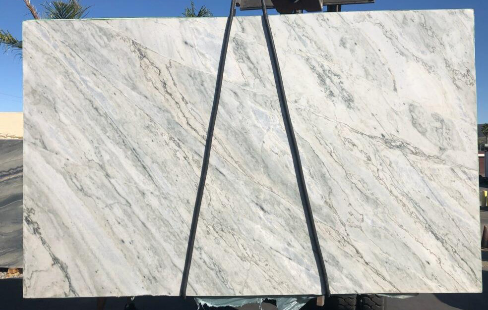 Brazilian Polished Blue Ocean Quartzite Slabs