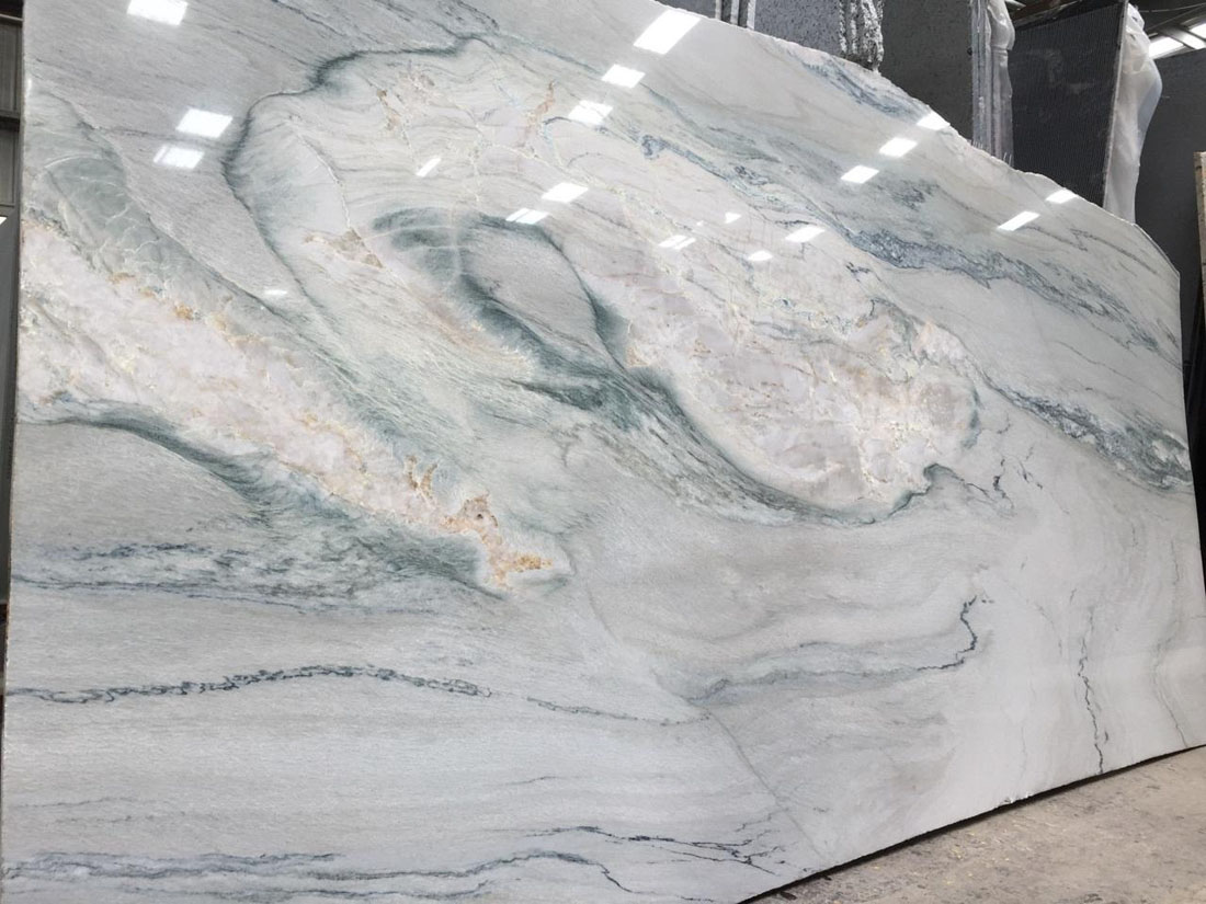 Brazilian Quartzite Macaubas Fantasy Quartzite Polished Slabs