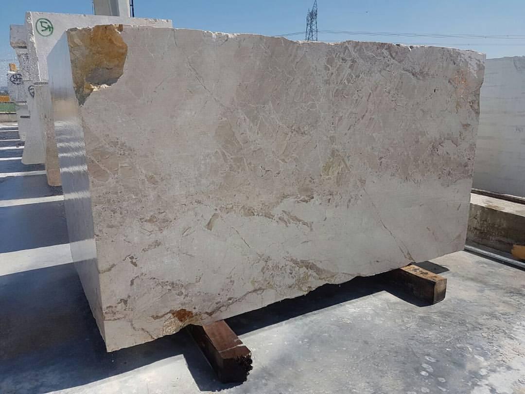 Breccia Aurora Marble Block Beige Marble Blocks