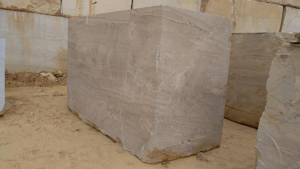 Breccia Daino Blocks Natural Beige Marble Blocks