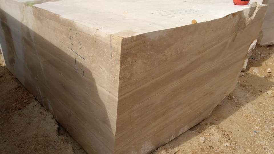 Breccia Daino Blocks Natural Italian Marble Blocks