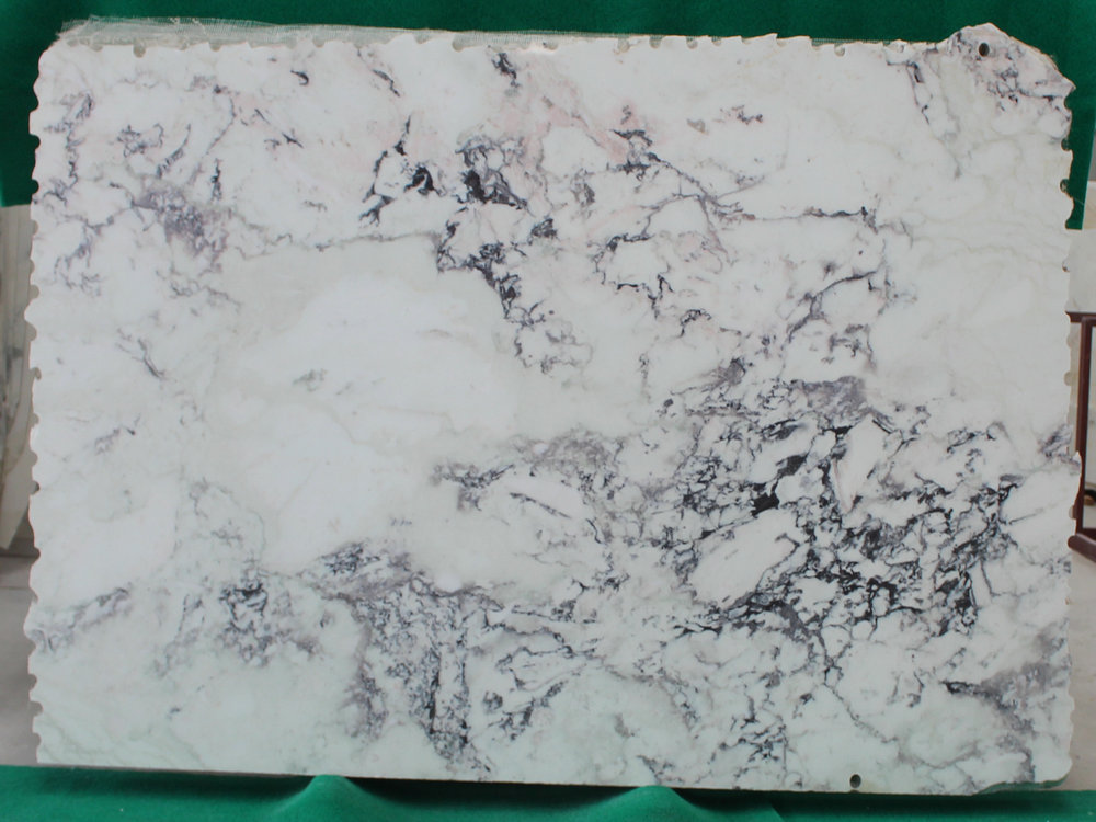 Breccia Purple Marble Slabs White Polished Marble Slabs