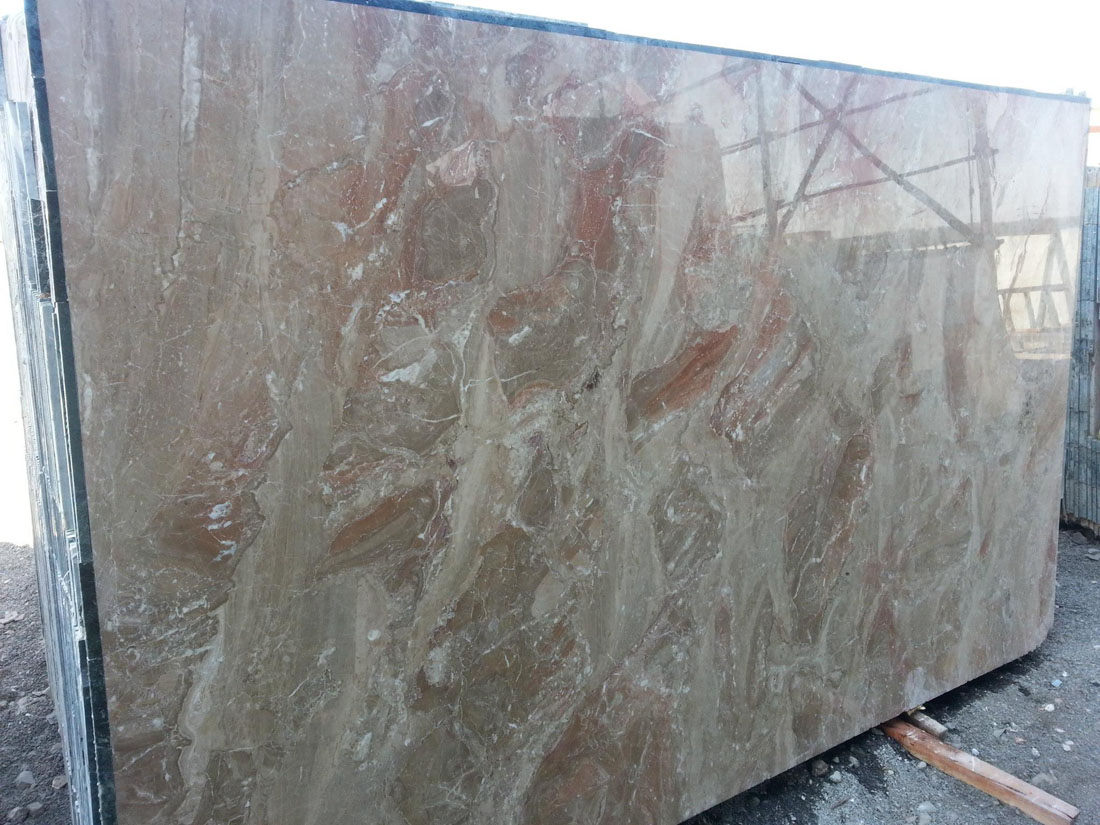 Brescia Onnochito Marble Polished Brown Slabs from Italy