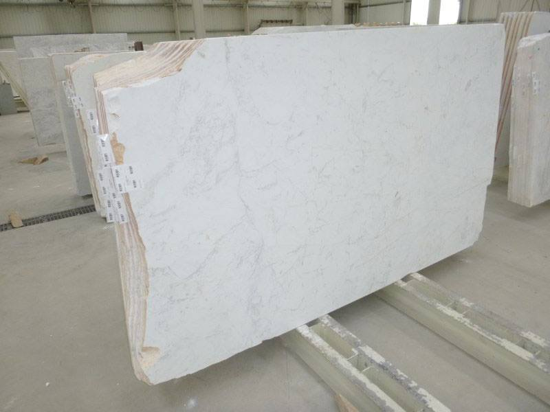 Brilliant White Marble Slabs Polished White Marble Slabs