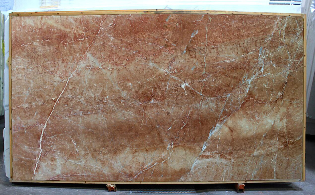 Bronze Mocca Marble Slabs Turkish Pink Marble Slabs