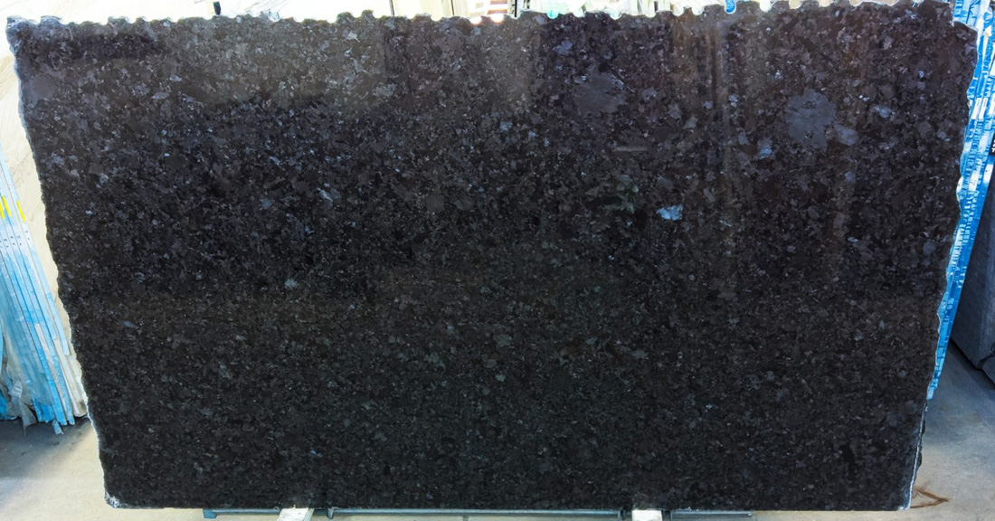 Brown Antique 3cm Polished Granite Slabs for Kitchen