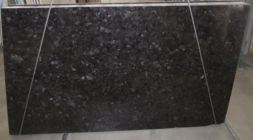 Brown Antique Granite Slabs Polished Granite Slabs for Countertops