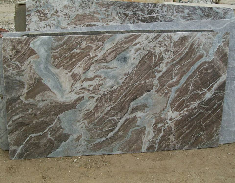 Brown Fantasy Marble Slabs Indian Brown Marble Slabs