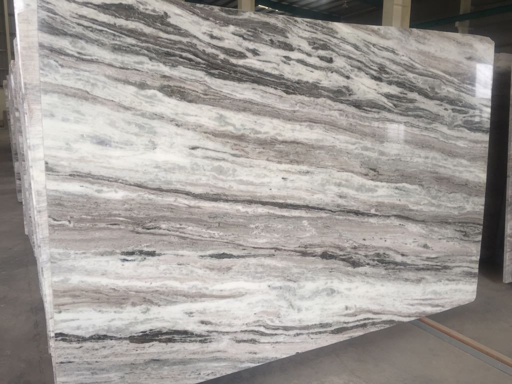 Brown Fantasy Marble Slabs Polished Indian Marble Slabs