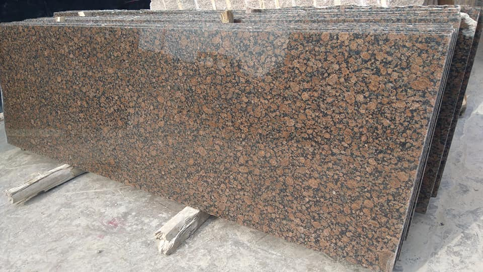 Brown Granite Slabs Polished Baltic Brown Slabs