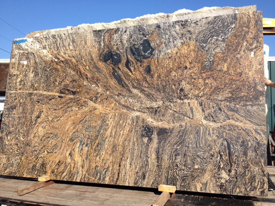 Brown Granite Slabs Stormy Night Slabs