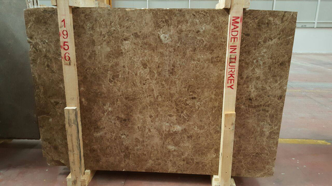 Brown Marble Slabs Emperador Slab from Turkey