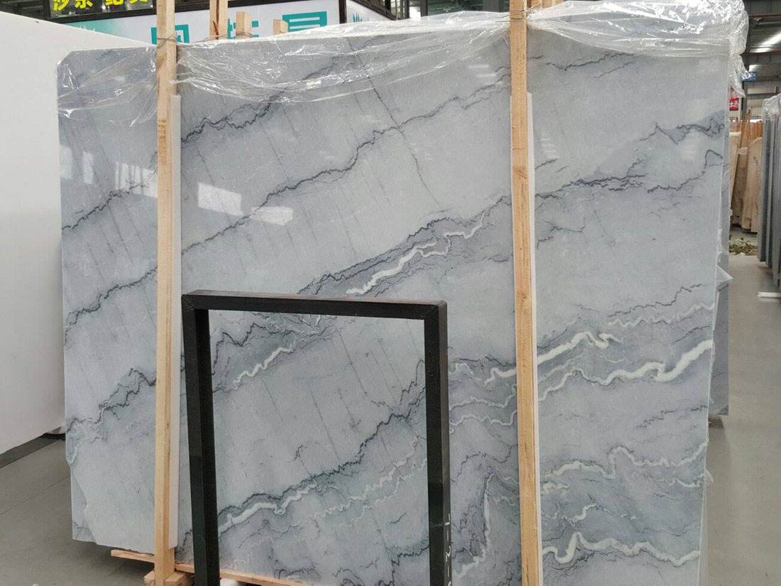 Bruce Grey Marble Slabs from China