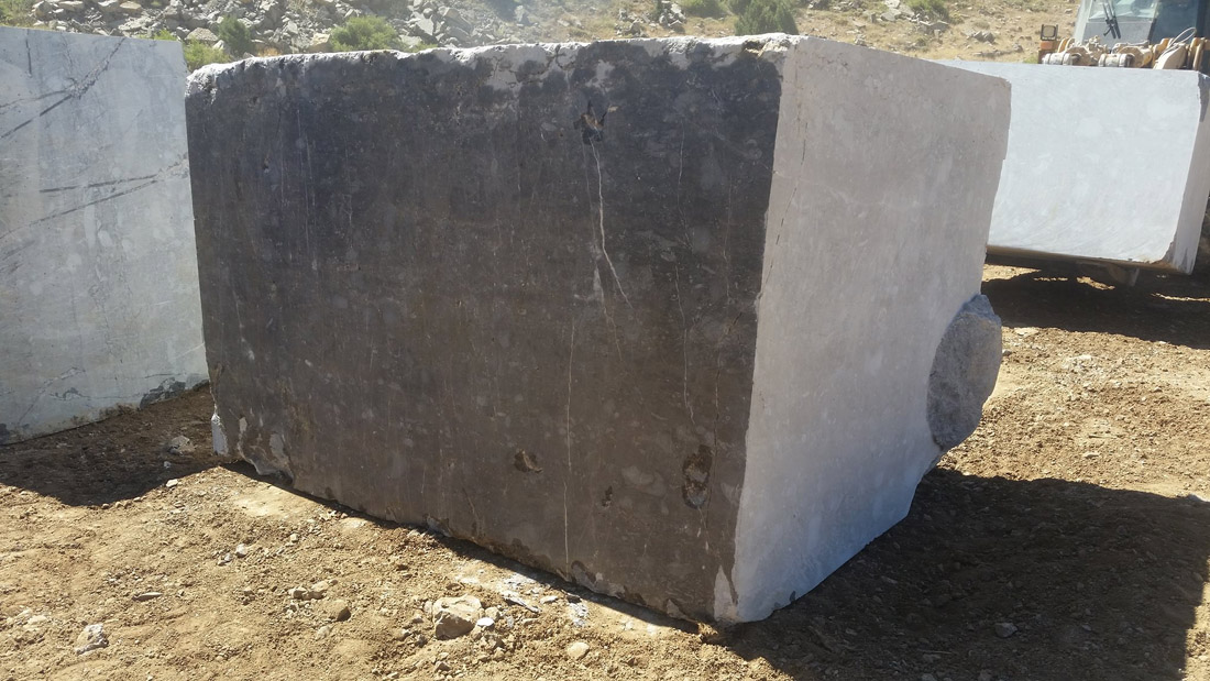 Bruno Perla Marble Blocks from Turkish Quarry