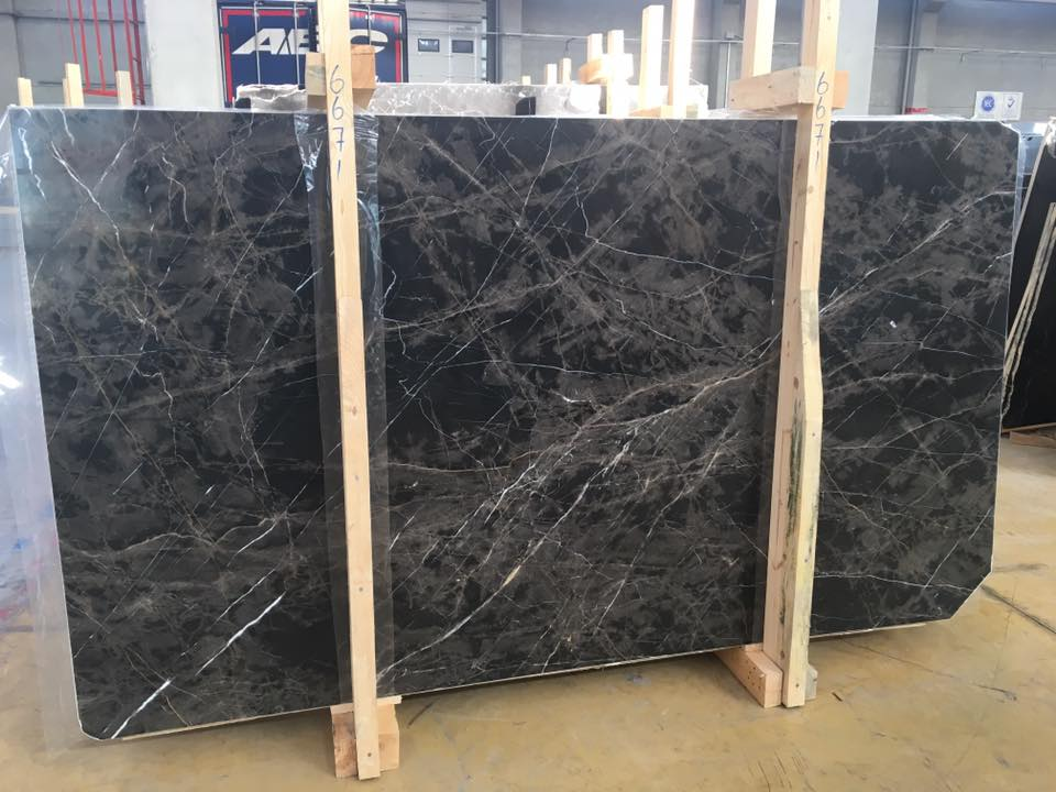 Bruno Perla Marble Slabs Black Polished Marble Slabs